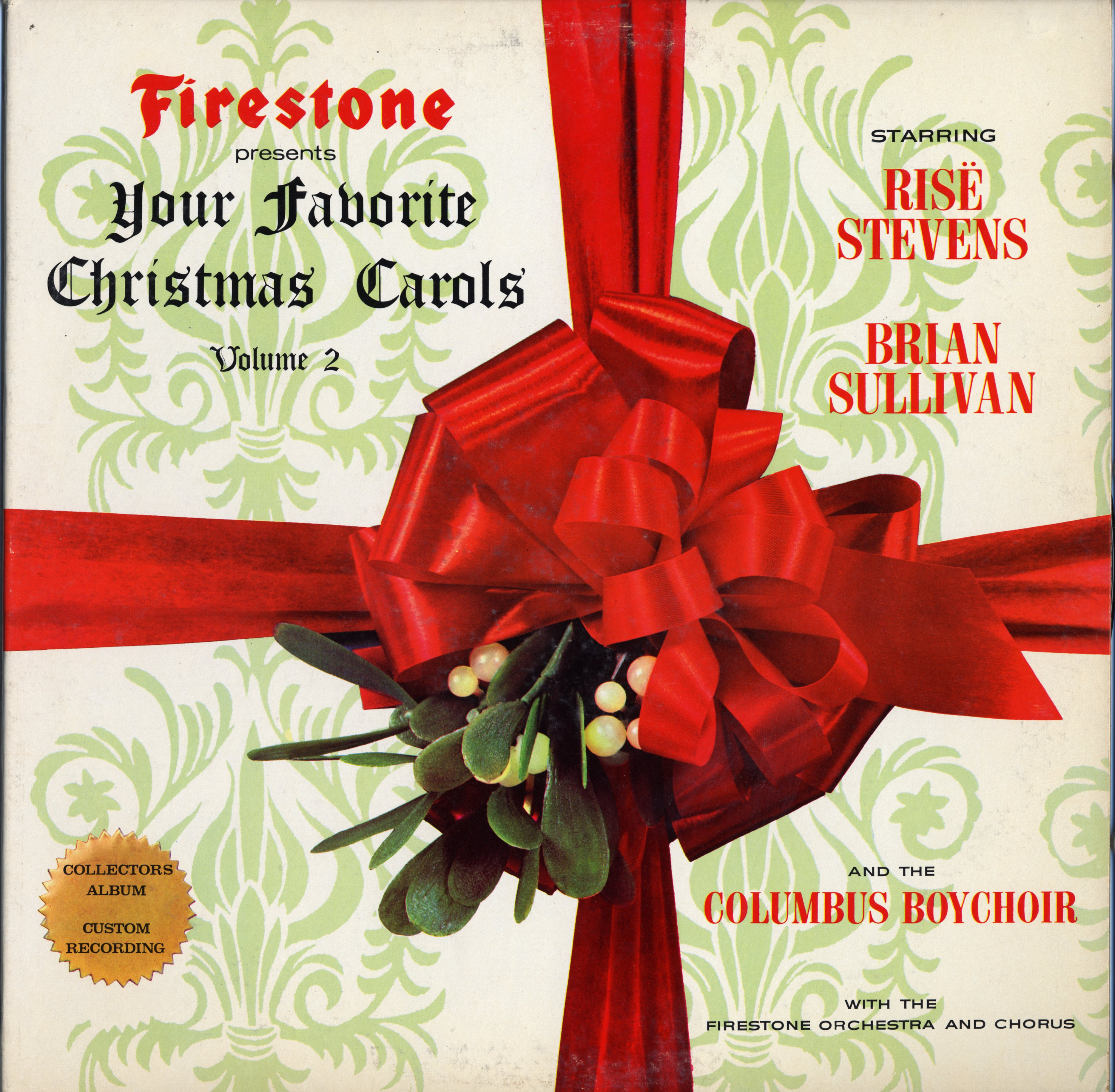 Firestone Christmas Carols